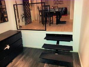 AVSLUTAD, 3 stegtrapp inomhus med trendig design
