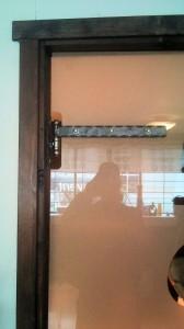 AVSLUTAD, Cool glasdörr med trendiga smides detaljer hos Wvent i Värnamo