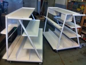 AVSLUTAD, NY design på plockvagnar till Garo Montage