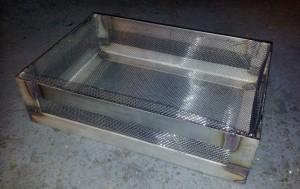 AVSLUTAD, Specialare, en sil till en klichetvättmaskin, tillverkad i rostfritt. Lev Flexokliche i Värnamo