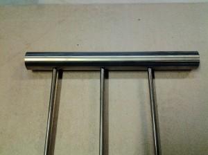 Tex Handledare 42,4mm och 3 st 10mm lodräta stavar