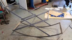 1a prototypen färdig, ska nu svetsa ihop allt o göra klart för ytbehandling