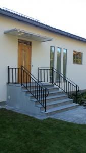 Hus renovering klar o trappräcke på plats :)