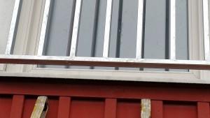 AVLSUTAD, Fransk balkong i rör konstruktion med varmgalv, Lev Värnamo
