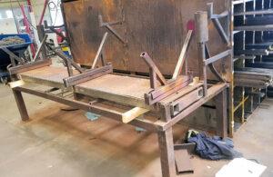 Tillverkning av vågbord till Stena Stål