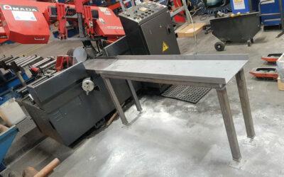 Arbet/material bord till Stena Stål